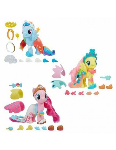 MY LITTLE PONY THE MOVIE LAND & SEA FASHION STYLE-ASST