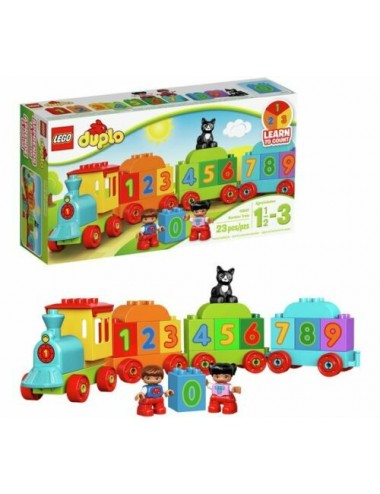 LEGO DUPLO MY FIRST NUMBER TRAIN TOY BUILDING SET-10847