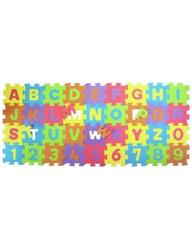 CHAD VALLEY NUMBERS & LETTERS FOAM MATS
