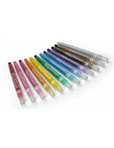 CRAYOLA-CLUTCH OF 12 SCENTED WAX CRAYONS SILLY SCENTS