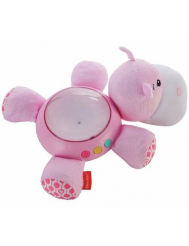 FISHER-PRICE HIPPO PROJECTION SOOTHER-PINK