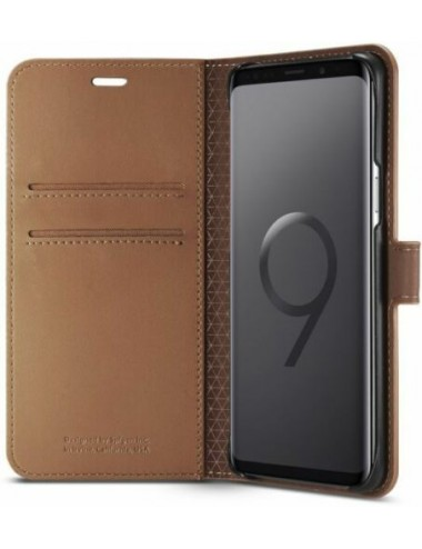 SAMSUNG GALAXY S9 COVER CASE-COFFEE BROWN